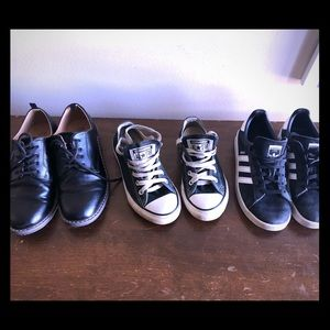Boys 3 pairs of shoes